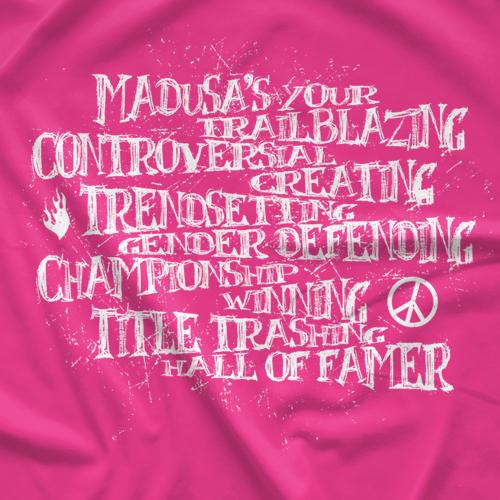 Madusa HOF - Pink