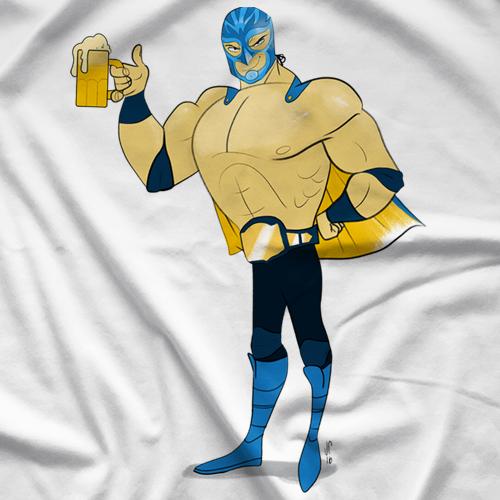 ManiaCrawl ManiaCrawl Luchador T-shirt
