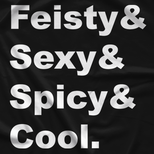 Fiesty&Sexy&Spicy&Cool