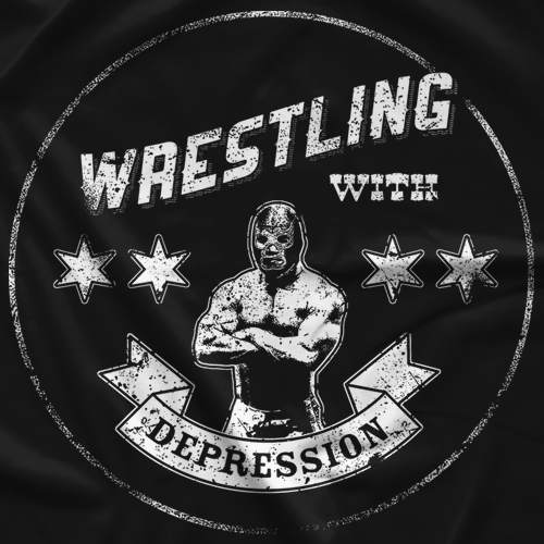 Marty DeRosa WWD Lucha T-shirt