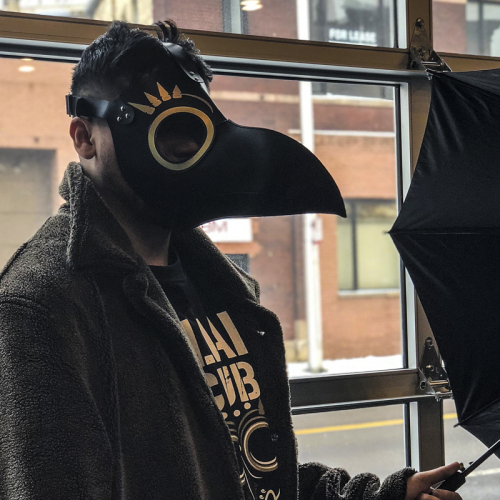 Marty Scurll Plague Doctor Cosplay Mask