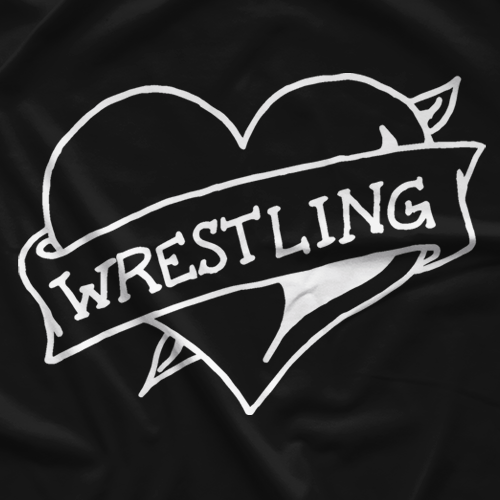 Wrestling Heart T-shirt