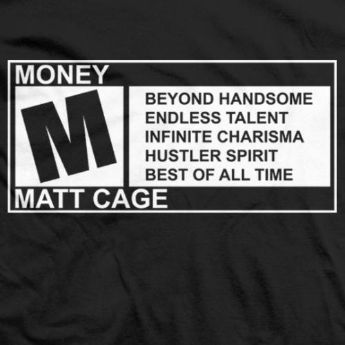 M for Matt Cage