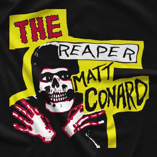 Matt Conard Reaper Horror Business T-shirt