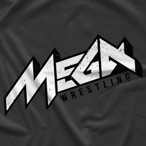 MEGA Wrestling MEGA (Alt) Logo T-shirt