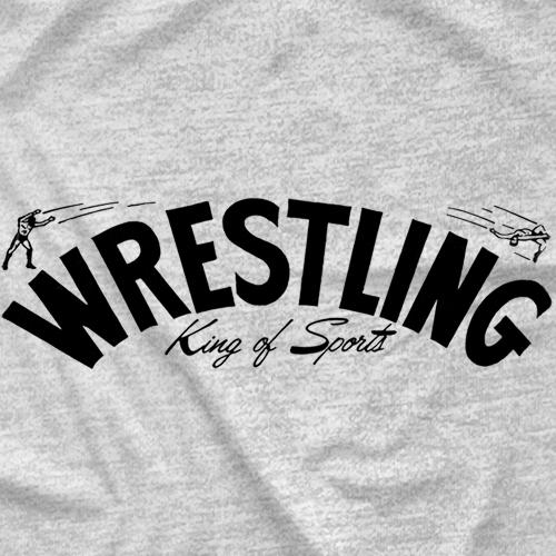 Memphis Wrestling Logo - Ash Grey