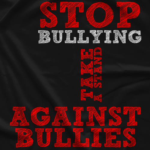 Men on a Mission Stop Bullying T-shirt