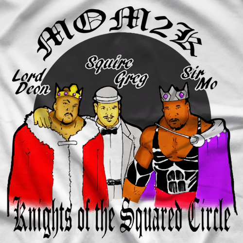 Knights of the Squared Circle T-shirt