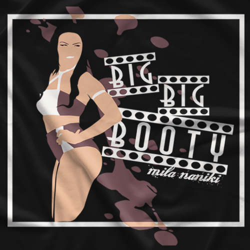 Mila Naniki Big Big Booty T-shirt