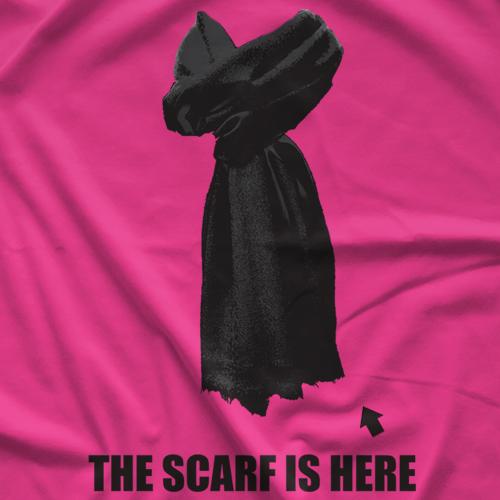 Black Scarf T-shirt