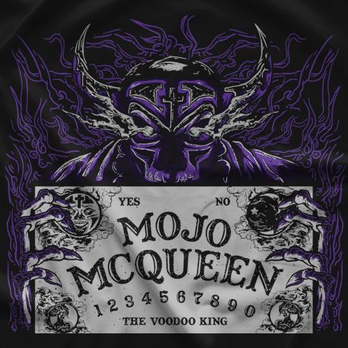 Mojo McQueen Ouija Board T-shirt