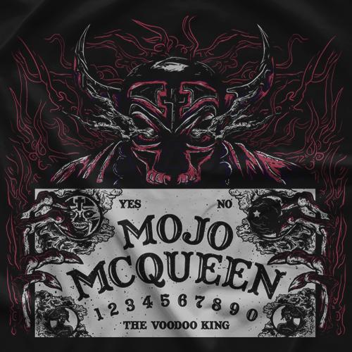 Mojo McQueen Ouija Board Red T-shirt