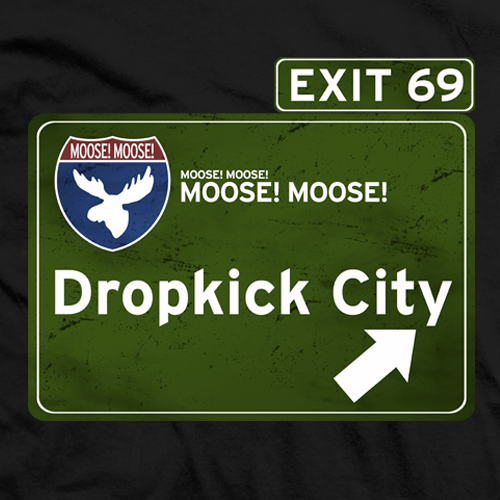 Moose Dropkick City T-shirt