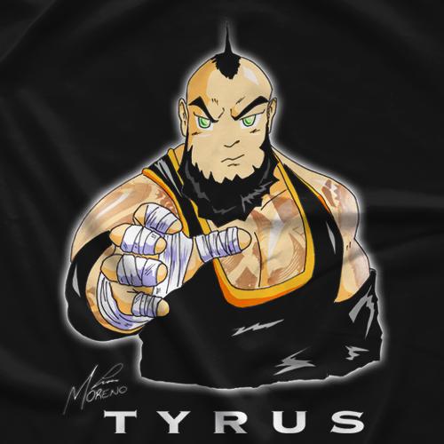 Anime Tyrus T-shirt