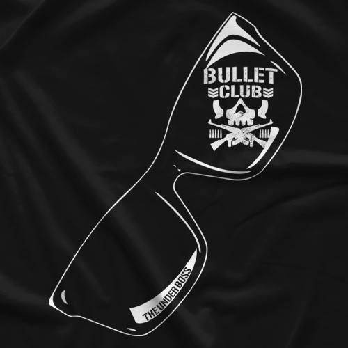 New Japan Pro Wrestling Fale Bullet Club T-shirt