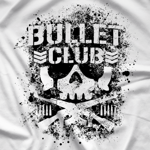 Bullet Club White T-shirt