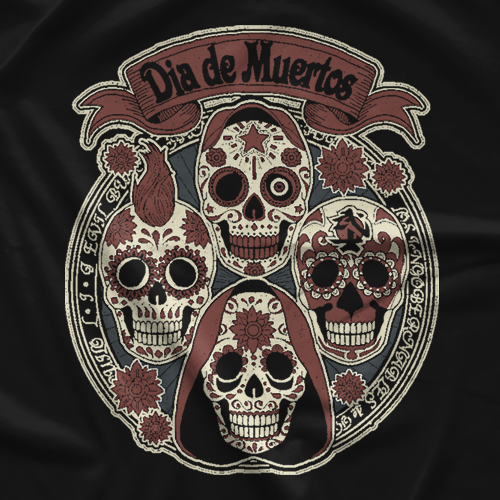 LIJ Day Of The Dead T-shirt