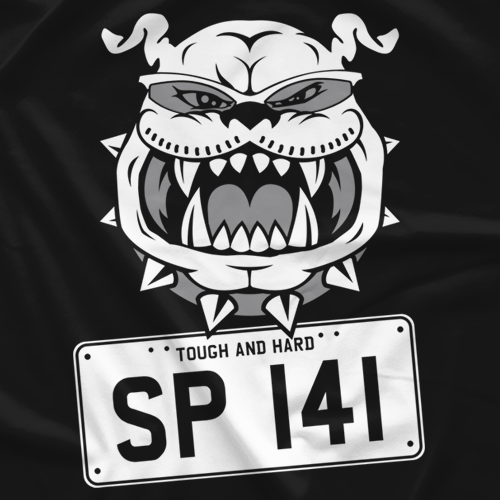 SP 141 Licence Plate Tomohiro Ishii