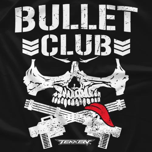 Kenny Omega X Brian Fury Tekken Bullet Club T-shirt