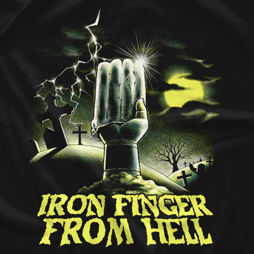 Iron Finger From Hell - Takashi Lizuka
