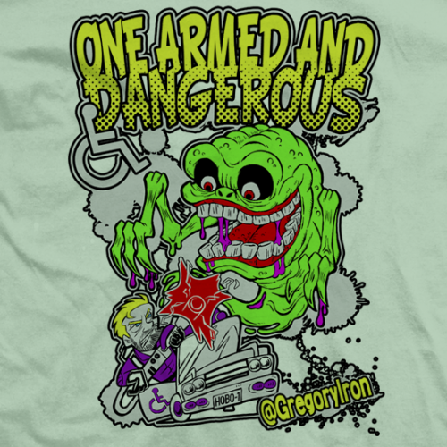 Gregory Iron One Armed & Dangerous T-shirt