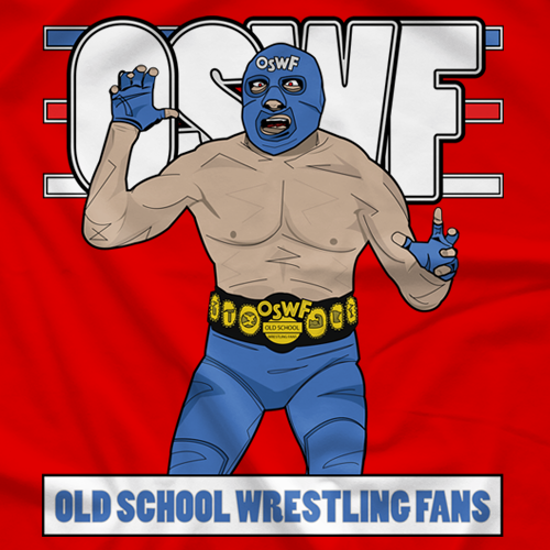 Blue Mascot