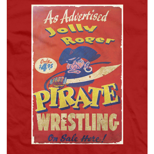 Wrestling Pirate