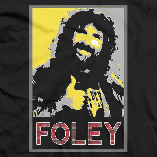 Mick Foley Poster T-shirt