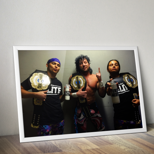 Young Bucks, Kenny Omega The Elite Print