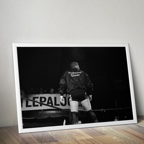 Colt Cabana Professional Wrestler Print