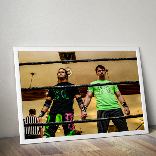 Trent Barrteta and Chuck Taylor Best Friends Poster