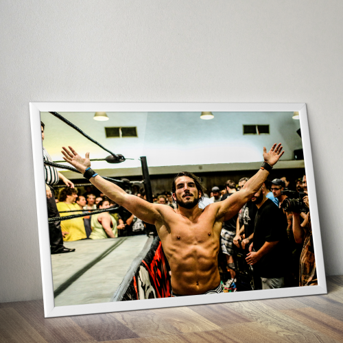 Johnny Gargano Johnny Wrestling Poster