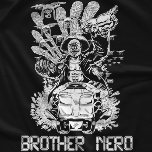 Delete: Brother Nero T-shirt