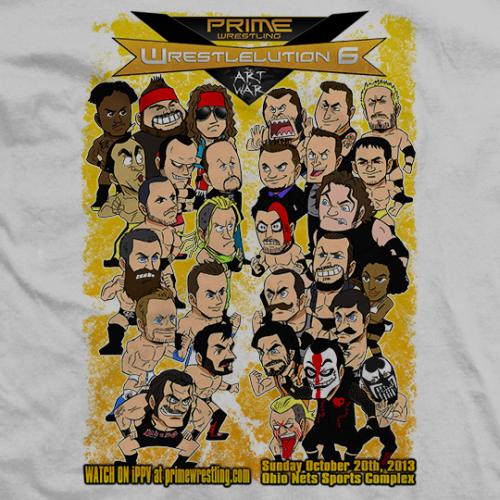 PRIME Wrestlelution 6 Animated Roster