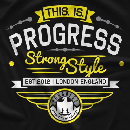 PROGRESS Wrestling Collegiate T-Shirt