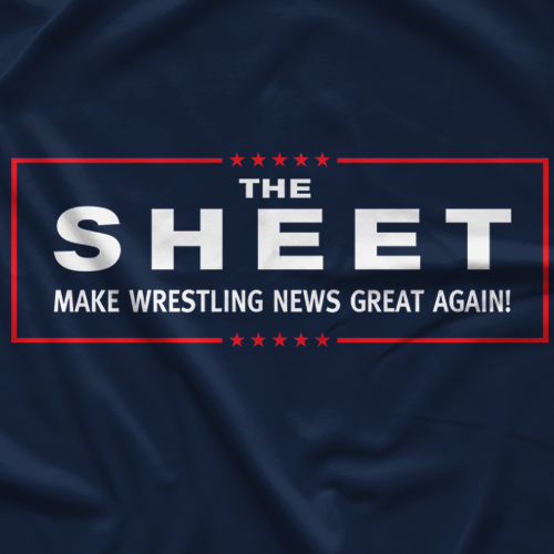 Make Wrestling News Great Again T-shirt
