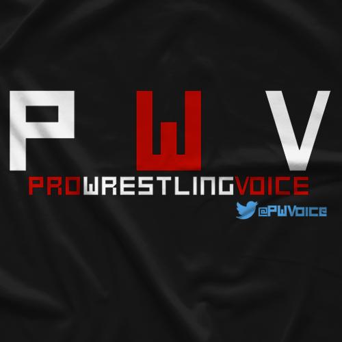 Pro Wrestling Voice PWV T-shirt