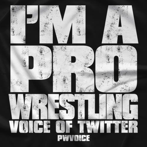 Pro Wrestling Voice Voice of Twitter T-shirt