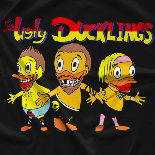 Pro Wrestling PWF Colby Corino Duckling Tales T-shirt
