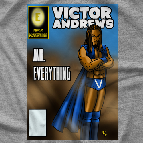 Victor Andrews Comic Book T-shirt