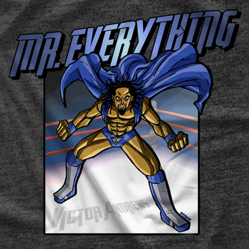 Victor Andrews - Superhero T-shirt