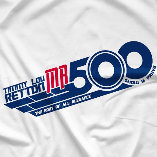 PWF Timmy Lou Retton - Mr. 500 T-shirt