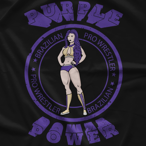 Raquel Purple Power T-shirt