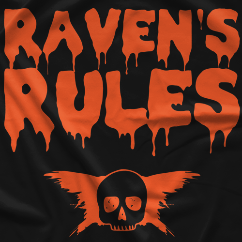 Raven Rules HalloweenT-shirt