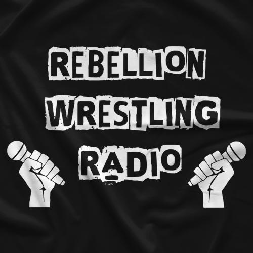 Rebellion Wrestling RW Radio T-shirt
