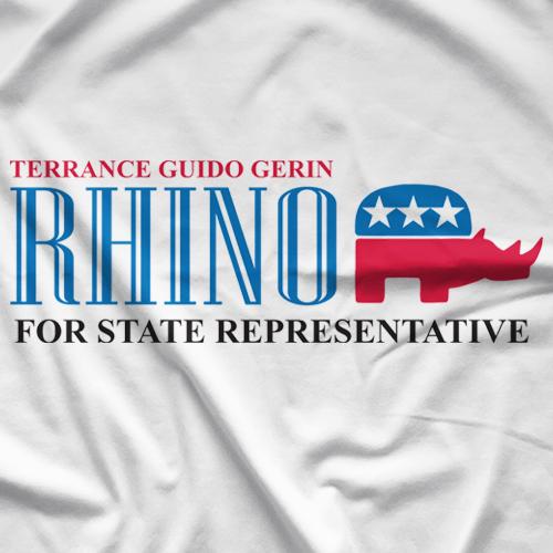 Rhino For Michigan T-shirt