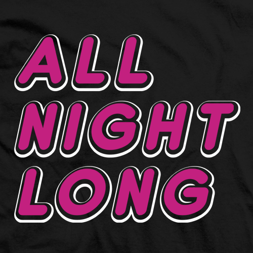 All Night Long T-shirt