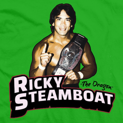 Ricky Steamboat Number 1 T-shirt