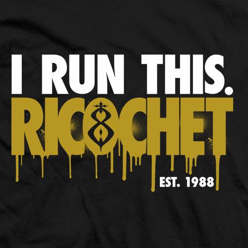 Ricochet I Run This. T-shirt