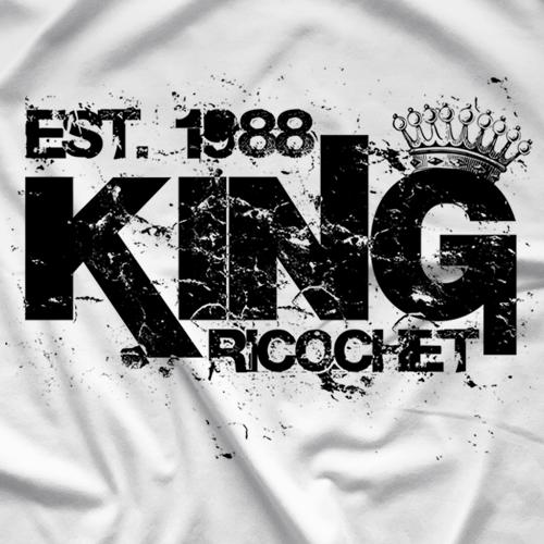 Ricochet King Ricochet White T-shirt